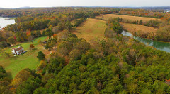 Smith Mountain Lake land for sale aerial view 4