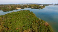 Smith Mountain Lake land for sale aerial view 6