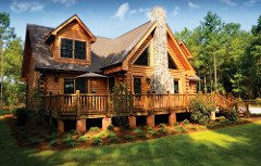 3 bedroom/2 bath, 1,600 sq. ft. Cabin Kit with Kennedy Shores' Smith Mountain Lake lot only $89,900