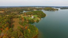 Smith Mountain Lake land for sale aerial view 2