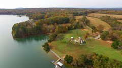 Smith Mountain Lake land for sale aerial view 3