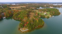 Smith Mountain Lake land for sale aerial view